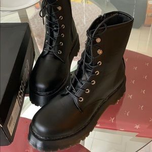 Missguided combat boots